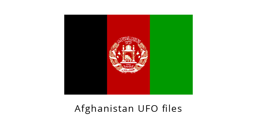 Afghanistan UFO files (disclosure documents)