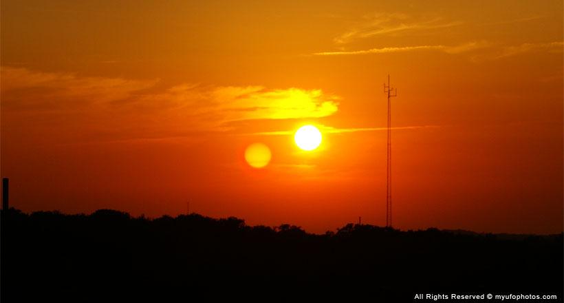 Second Sun Solar Lens Flares not Planet X or Nibiru