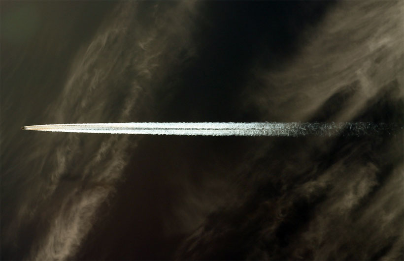 Aviation contrail