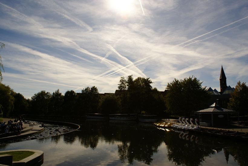 Contrail / chemtrail pollution?