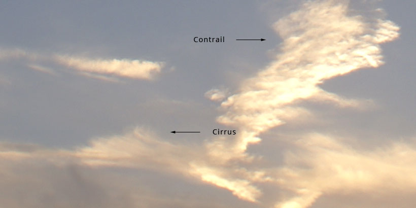 Cirrus / Contrail illustration